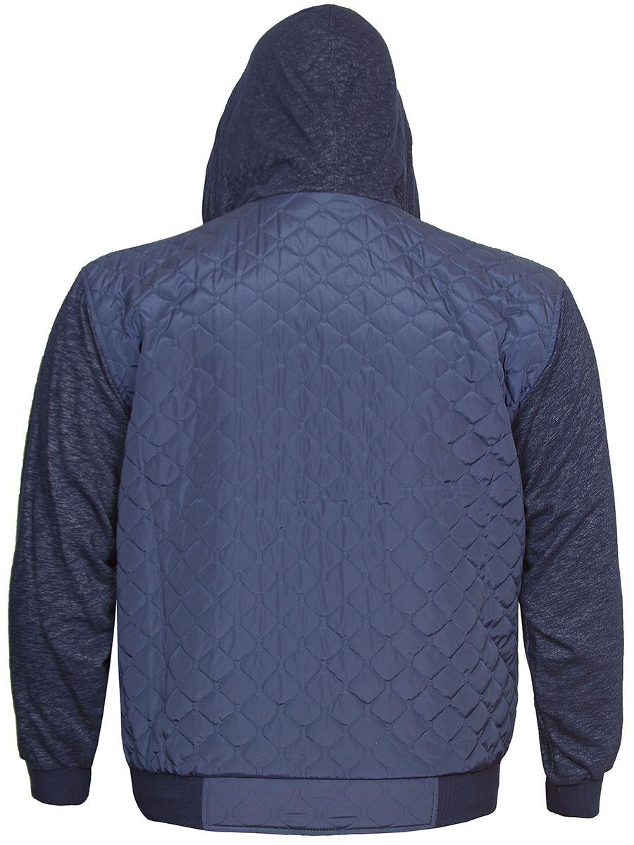 d384e431631 Куртка Бест синяя от 60 до 82 размера в интернет магазине Большие люди